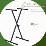 Heavy-Duty Single X Keyboard Stand Ks-8