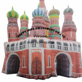 Amusement Park Inflatable Castle Combo Playground
