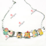 Sliver Slide Bar Necklace for Fashion Jewellry (SN-01)