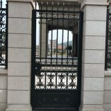 Handcrafted Wrought Iron Single Doors