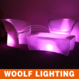 Design Acrylic Illuminated LED Light Furniture Sofa