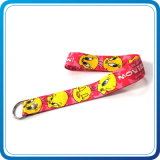 Promotional Items Polyester Material Key Chain Lanyard (HN-LD-123)