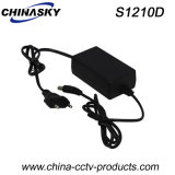 12V 1A Desktop CCTV Surveillance Camera Adapter (S1210D)