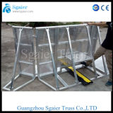 Aluminum Audience Isolation Fence for Concerts Queue Barrier