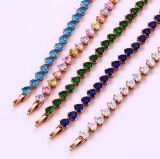 Xuping Rose Gold Color Elegant Bracelet (72346)
