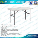 Exhibition Display Rectangular Plastic Folding Table (M-NF18F05102)
