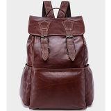 Hot Sale School Bag Man Backpack Leather Backpack (M3109)