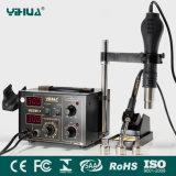 Yihua 852d++ with Air Gun Bracket ESD SMD Rework Station