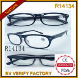 Dropshipping Wholesale Clear Plastic Frame Reading Glasses (R14134)