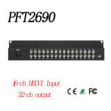 16 CH Input 32CH Output 720/1080P Hdcvi Video Format Distributor {Pft2690}