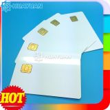Atmel AT24C02 white PVC smart contact chip card for payment