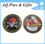 3D Military Coin with Soft Enamel No Epoxy