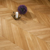 White Oak Chevron Parquet Engineered Wood Flooring