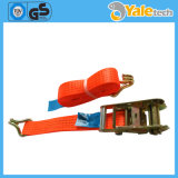 Container Handlers Straps Tie Down with Logo Ratchet Strap Buckle
