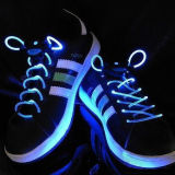 (Promotion) 2015 Merry Christmas for Kids Gift LED Colored Shoe Lace/LED Shoelaces with Battery/Light up