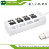 7-Port Superspeed USB 2.0 Hub with Individual on/off Switches