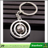 New Design Metal Rotating Ball Keyring