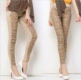 P1272 High Quality Slim Pencil Pants Women′s Leisure Leggings