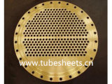 Customize Drilled Heat Exchanger Plate, Heater Tube Sheet