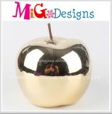 New Developed Good Discount Ceramic Apple Piggy Bank