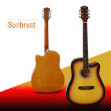Cheap Colourful Acoustic Guitar for Beginner
