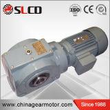 S Series High Efficiency Hollow Shaft Helical Worm Gear Motor
