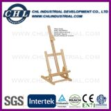 Factory Direct Wholesale Customized Logo Printed Elm Easel for Artist