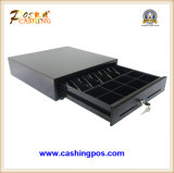 Manual POS Cash Drawer Money Box with Bill Dividers or Media Slot Customize