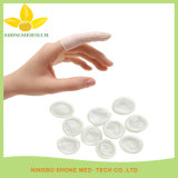 Disposable White Latex Finger Cots