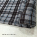 Stock Wool Fabric Check Double Face