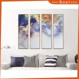 Hot New Abstract Printable Wall Art Painting 4panels Group Printed Custom Oil Painting