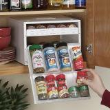 White Spicestack 30-Bottle N Spice Organizer