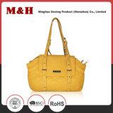 PU Women Shoulder Long Strip Bag Yellow Color