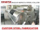 Stainless Steel Garbage Waste Bin with Wheel