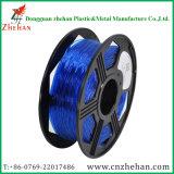 Plastic Rod 3mm Flexible 3D Printer Filament Blue Color