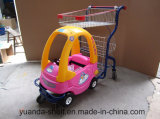 Supermarket Shopping Cart with Children Toy Car