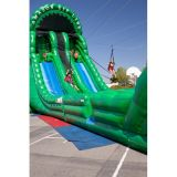 2017 New Inflatable Dry Slide