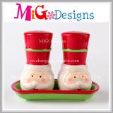 Christmas Wholesale OEM Welcome Ceramic Salt Sugar Coffee Jars