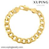 70736 Fashion Cool 24k Gold Plated Jewelry Men Bracelet in Metal Alloy