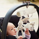 Plush Baby Hanging Toy with Sound for Newborn