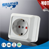 Schuko Electrical 1 Gang Wall Socket with Child Protection