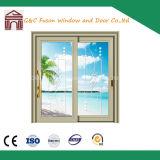 Double Glass Design Aluminum Sliding Door for India