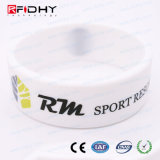 Reusable Em4305 Smart RFID Customize Silicon Wristband