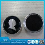 Custom Souvenir Glass Fridge Magnet