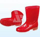 Jy-6239 PVC Transparent Men Rain Boots