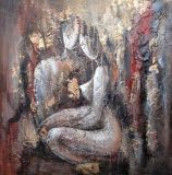 Abstract Figure Oil Painting (45)