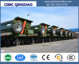 Cimc Carbon Steel Dump Trailer with Hydraulic Cylinder Truck Chassis