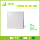 RoHS, TUV, Ce Listed No Flicker Ra>80 White Frame Ultra Slim SMD 2835 LED Flat Panel Lights