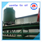 The Newest Design Tyre to Fuel Oil Recycling Pyrolysis Plant