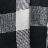 Hemp Yarn-Dyed Plaid Fabric (QF13-0074)
